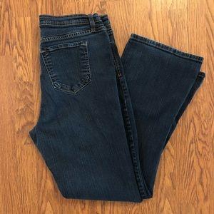 NYDJ   Dark Wash Bootcut Jeans Size 18